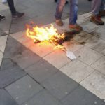 В Швеции критик режима попытался совершить акт самосожжения