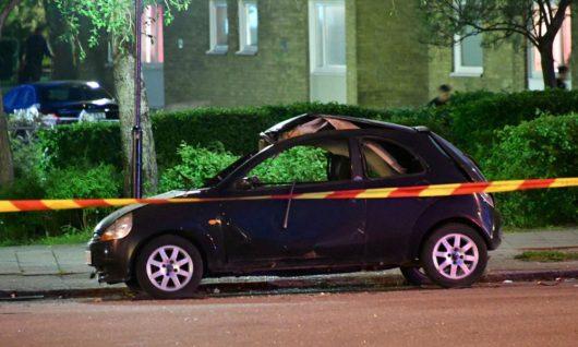 В Мальмё взорвался автомобиль