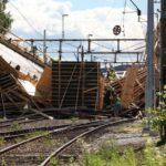 В Швеции обрушился строящийся мост