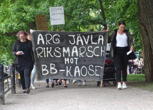 В 15 городах Швеции прошли демонстрации против закрытия роддомов