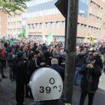 Манифестация нацистской организации «Северное движение сопротивления»