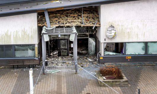 В Швеции взорвали вход полицейского участка