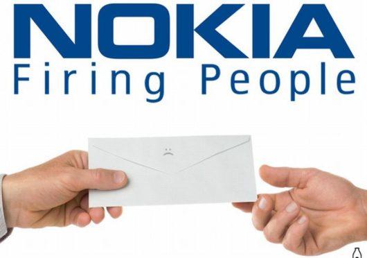 Nokia firing people