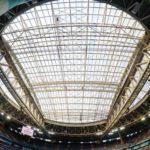 «Санкт-Петербург» - единственный российский стадион с раздвижной крышей.