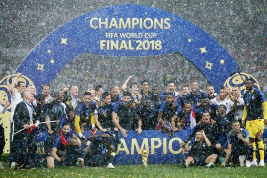 Сборная Франции стала чемпионом мира по футболу