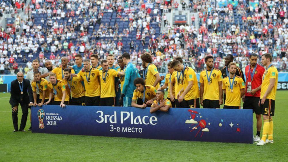 Сборная Бельгии завоевала бронзовые медали ЧМ-2018