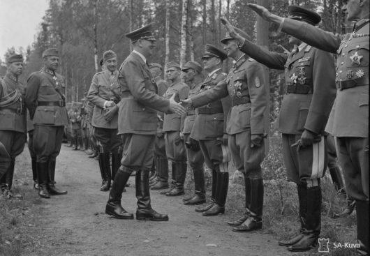 Гитлер в Финляндии