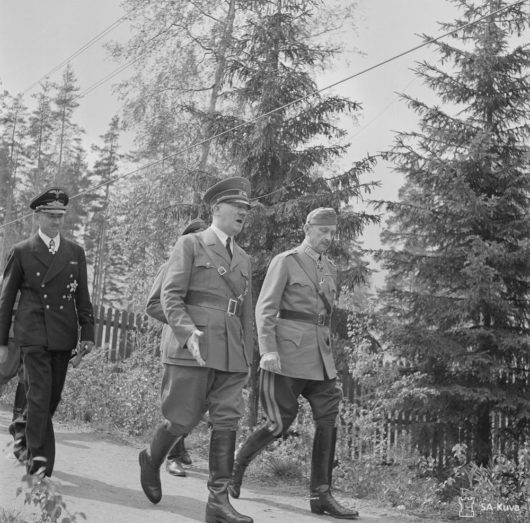 Маннергейм и Гитлер