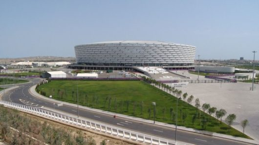 «Бакинский олимпийский стадион»/Baki Olimpiya Stadionu (Баку, Азербайджан)