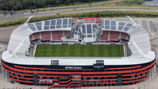 На стадионе АФАС обвалилась крыша