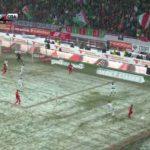 «РЖД Арена» зимой