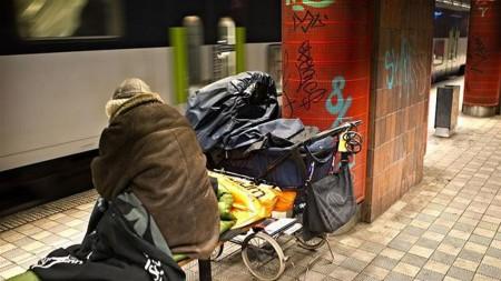 Бездомные в Дании