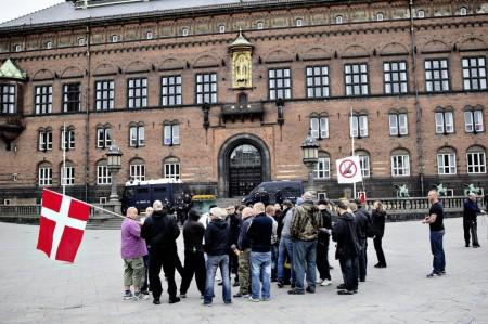 Датские националисты провели в столице демонстрацию.