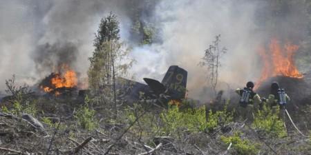 В Швеции разбился легкомоторный самолёт
