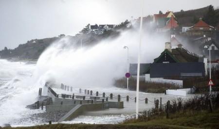 Ураган «Бодил» в Дании