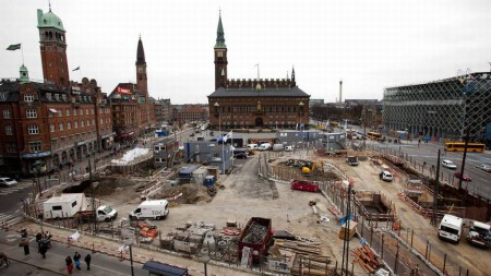 Строительство метро в Копенгагене