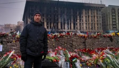 Шведский нацист Андреас Карлссон в Киеве