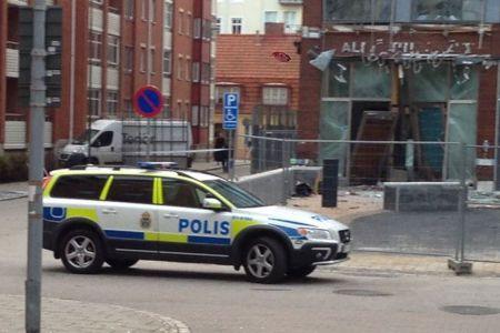 Взрыв в Мальмё
