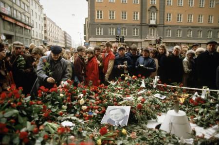 Годовщина убийства премьер-министра Швеции Улофа Пальме