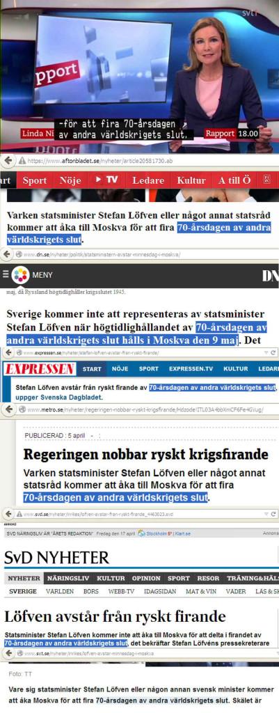 Шведские СМИ и правительство не знают, когда закончилась Вторая мировая война
