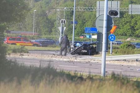 В Гётеборге при взрыве автомобиля погибли четыре человека