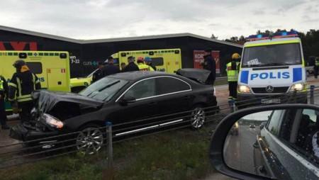 Кортеж президента Индии попал в автомобильную аварию в Швеции