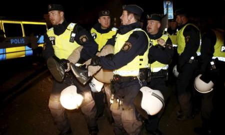 Шведская полиция снесла лагерь граждан ЕС