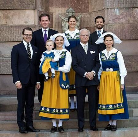 Самая счастливая семья Швеции