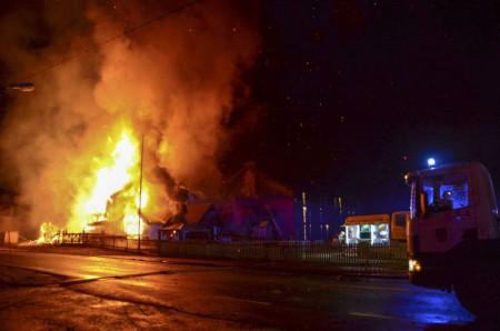 В Норвегии произошёл пожар в центре для приёма беженцев