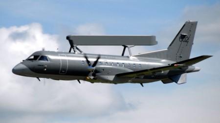 Шведский шпионский самолёт ASC 890
