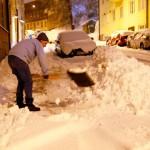 Снегопад в Гётеборге