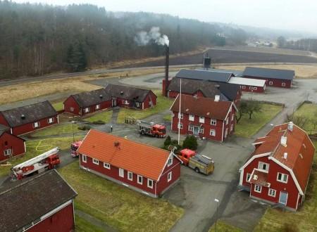 Сегодня ночью в Швеции в нескольких приютах произошли пожары