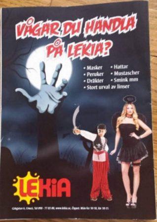 Сексистская реклама в шведском магазине
