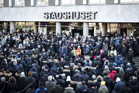 В Швеции прошёл очередной бесполезный митинг