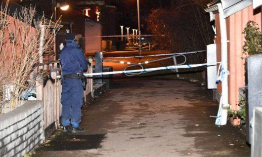 В Мальмё во дворе жилого взорвали гранату