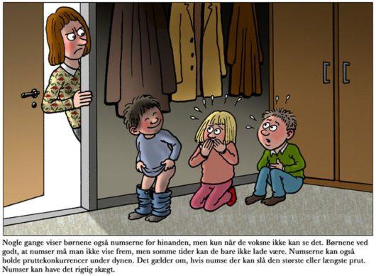 Датская детская книга Den Store Numsebog
