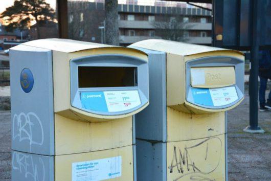 Государственная почта Дании и Швеции PostNord
