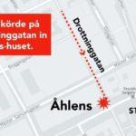 Теракт в Стокгольме: Грузовик врезался в группу людей на улице Дроттнинггатан