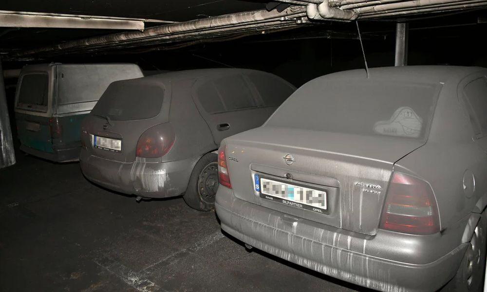 На стоянке в Мальмё сожгли 30 автомобилей