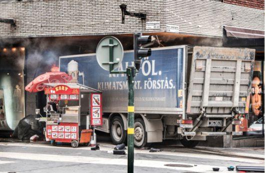 В центре Стокгольма произошёл теракт