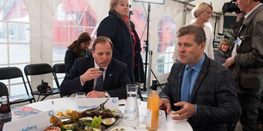 Stefan Löfven, Erna Solberg, Bjarni Benediktsson