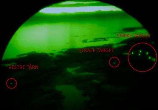 Во время учений в Норвегии три военнослужащих попали под обстрел истребителя F16