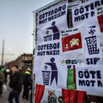 Демонстрация нацистской организации «Северное движение сопротивления»