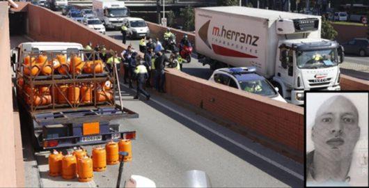 Шведский гражданин в Барселоне украл грузовой автомобиль и сбил на нём трёх человек