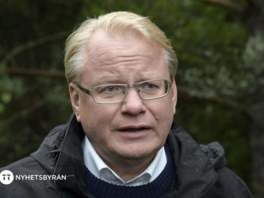 Министр обороны Швеции Петер Хультквист/Peter Hultqvist