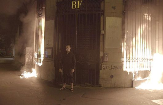 Французский художник поджёг дом