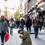Среди сторонников Социал-демократической партии 40% считают, что попрошайничество надо запретить