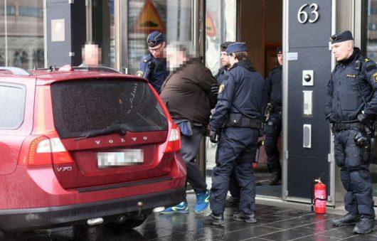Полиция задержала мужчину в возрасте 50 лет, подозреваемого в поджоге
