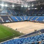 «Санкт-Петербург» - единственный российский стадион с выкатным полем