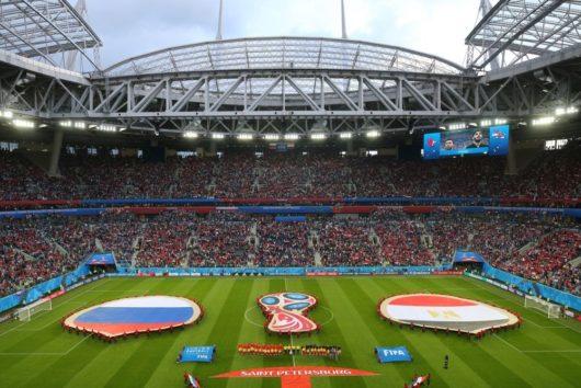 На стадионе «Санкт-Петербург» установили рекорд посещаемости